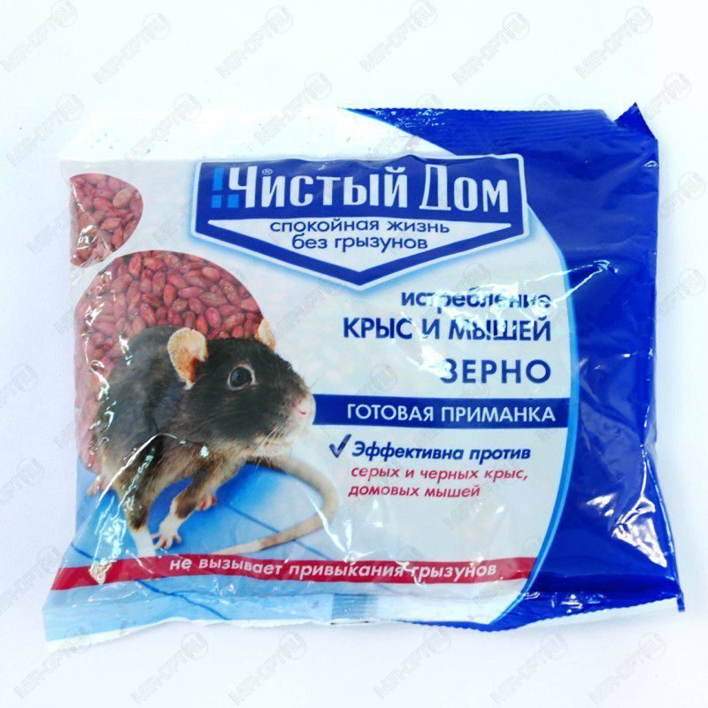 Отрав для мышей в домашних условиях